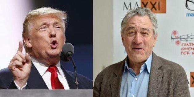 Robert De Niro contro Donald Trump: