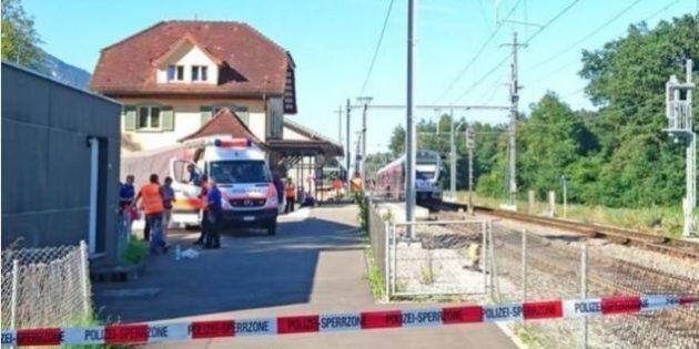 Svizzera: un uomo di 27 anni ferisce 7 persone in un treno poi dà fuoco al