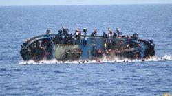 Affonda un barcone con 550 persone al largo della
