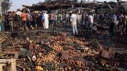 Isis rivendica l'attentato al mercato di Baghdad (FOTO,