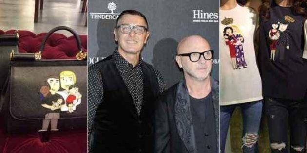 Dolce&Gabbana cambia idea sulla famiglia gay. Su borse e t-shirt: