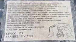Targa fai-da-te a Montecitorio: la solidarietà a discapito del