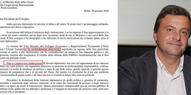 230 giovani diplomatici scrivono a Renzi: