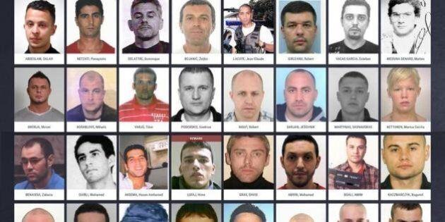 Europol, i più ricercati d'Europa in un solo sito. Foto e dettagli per aiutare la