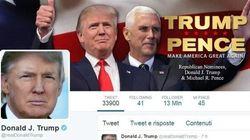Nyt: staff toglie a Trump la gestione del suo account