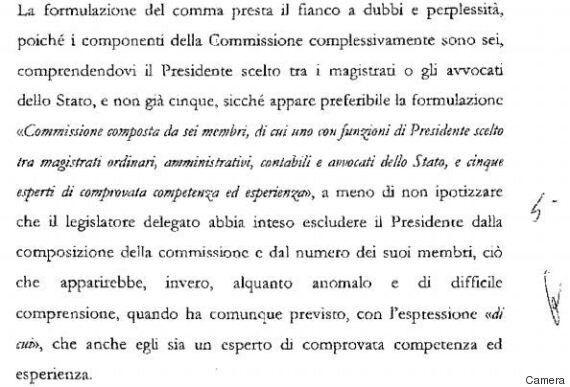 I rilievi del Consiglio di Stato sui decreti del Governo Renzi: scritti male (e con errori algebrici)....