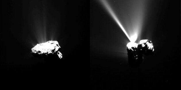 Rosetta fotografa il