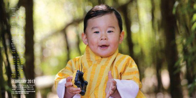 Il piccolo principe del Bhutan è assolutamente