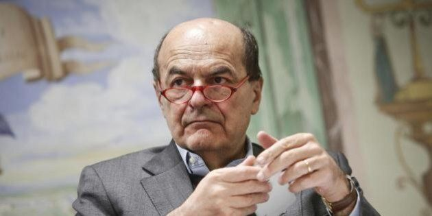 Pier Luigi Bersani in assetto di combattimento: