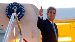 Kerry è atterrato all'Avana