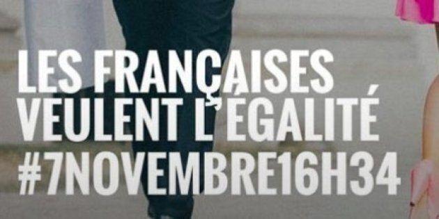 Francia, sciopero in rosa contro le disparità salariali. Alle 16.34 le donne transalpine hanno smesso...