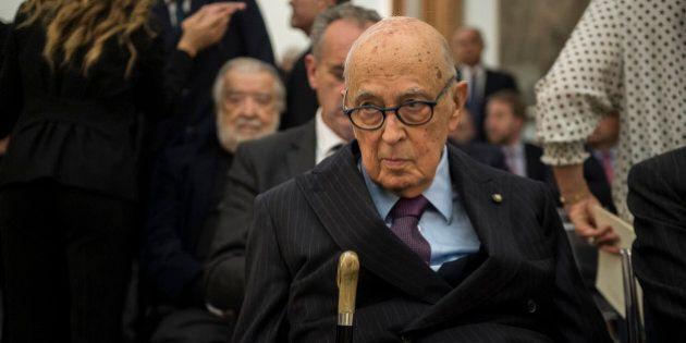 Giorgio Napolitano compatta il partito del