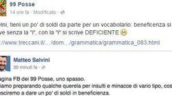 Salvini scrive