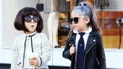 Le gemelline più fashion di Instagram. Messe in posa dalla