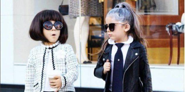 The Royal Twins, le gemelline Bella e Chloe fashion star di Instagram. A gestire l'account, la mamma