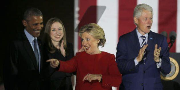 Una donna alla Casa Bianca, il giorno della grande