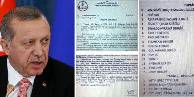 Turchia, il governo di Erdogan ordina a scuole e biblioteche le distruzione dei libri e giornali connessi...