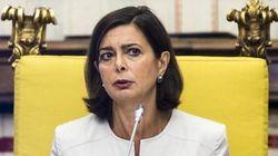 Boldrini plaude alla dedica della Bruni per la