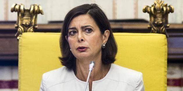 Laura Boldrini plaude alla dedica di Rachele Bruni per la compagna: