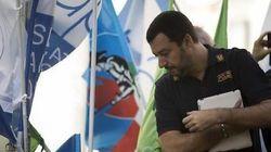 Salvini manda la polizia su tutte le furie: