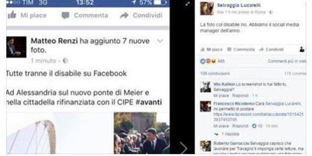 Il social media manager di Matteo Renzi fa una gaffe sul profilo del premier
