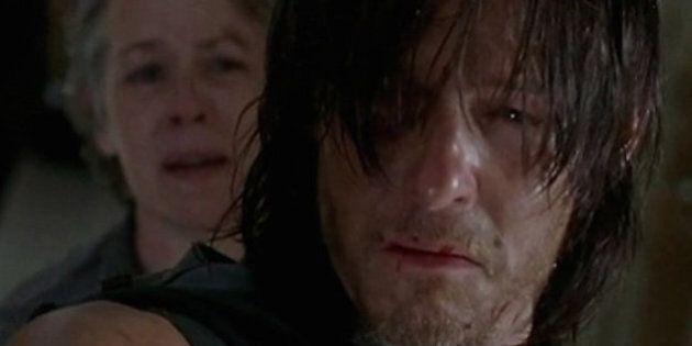 Daryl finalmente crolla dopo la scioccante morte in