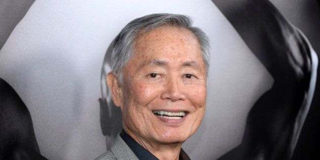 FILE - In this March 15, 2016 file photo, actor George Takei attends the premiere