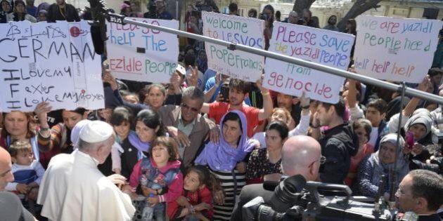 Il Papa ha portato tutto il mondo nel luogo che il mondo cerca di non