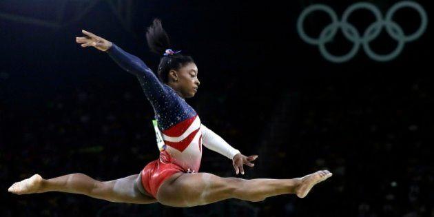 Simone Biles regina dei Giochi di Rio 2016. Trionfa anche nel corpo libero. In totale quattro ori e un