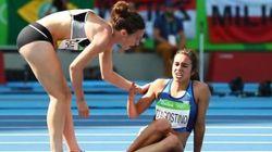 Questa foto incarna perfettamente lo spirito olimpico di Rio