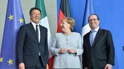 Telefonata Renzi Hollande in vista del trilateral con la Merkel di