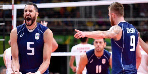 Rio 2016, l'Italia della Pallavolo maschile batte l'Iran e va in
