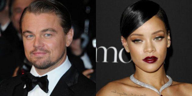 Leonardo DiCaprio e RIhanna al Coachella Festival: la foto dei due infittisce le voci su una presunta