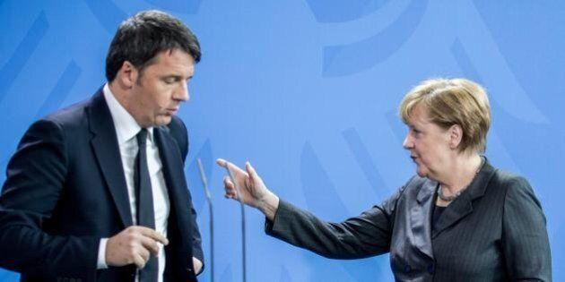 Migranti, Merkel contraria alla proposta di Renzi: