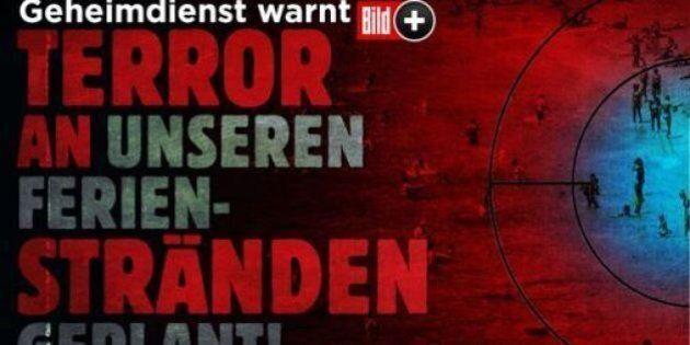 Terrorismo, articolo della Bild: