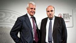 Mps, Viola e Profumo indagati dalla Procura di Siena per falso in