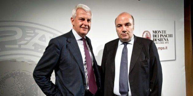 Mps, Fabrizio Viola e Alessandro Profumo indagati da Procura di Siena per falso in bilancio. La banca:...