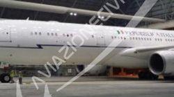 Il nuovo aereo di Renzi ora è a Fiumicino pronto per i nuovi viaggi del premier