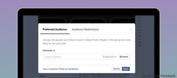 Facebook cambia algoritmo: