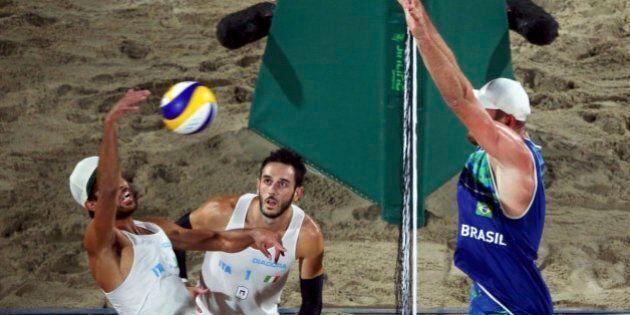 Beach Volley, Lupo e Nicolai argento, sconfitti dal Brasile sulla spiaggia di Copacabana.