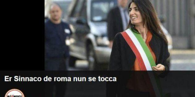 Rime e romanesco a difesa di Virginia Raggi sul blog di Beppe Grillo: