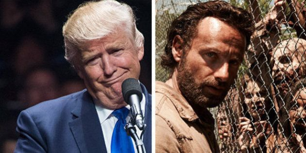 Nell'ultima puntata di The Walking Dead c'è uno zombie che somiglia a Donald