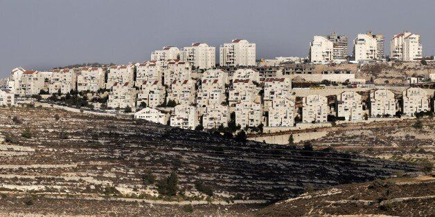 The Israeli West Bank settlement of Efrat is seen on September 1, 2014. Israel said it would expropriate 400 hectares (988 ac