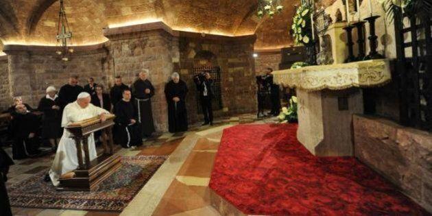 Papa Francesco ad Assisi, dalla guerra fredda all'Isis 30 anni