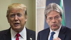 Contatto: prima telefonata tra Gentiloni e Trump. Libia e G7 di Taormina al centro del