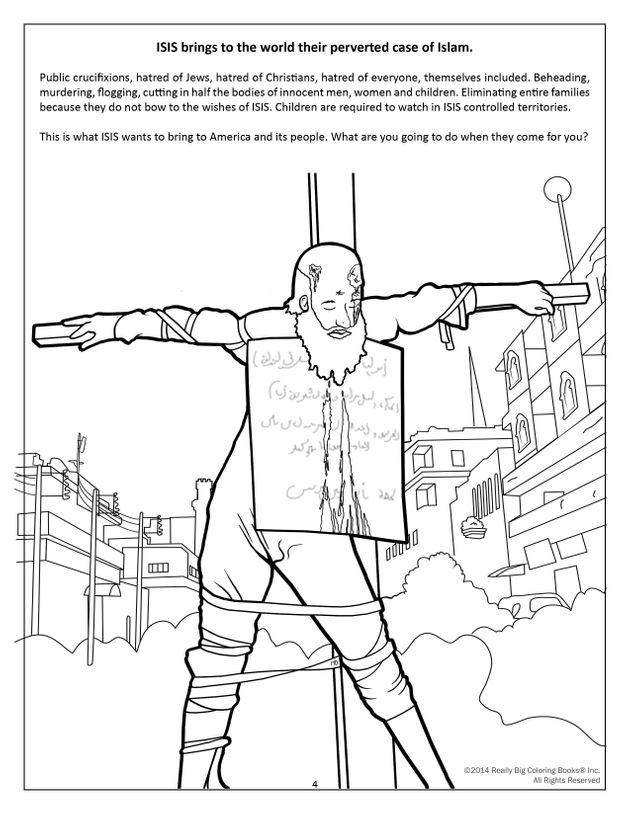 Graphic Anti-Terrorism Coloring Books Introduce Kids To ISIS ...