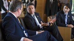 Renzi dal G7 risponde alla minoranza dem: