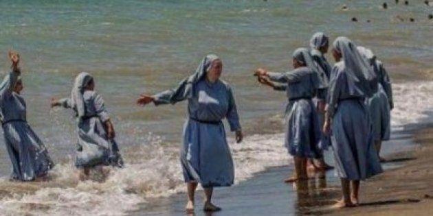 Burkini, imam di Firenze Izzedin Elzir pubblica su Facebook foto di suore al mare. Account