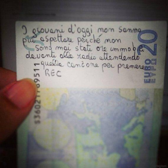 L'incredibile messaggio generazionale su una banconota da 20 euro: