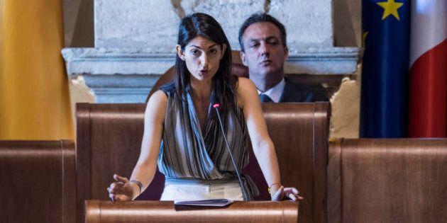 Virginia Raggi, dietrofront della Raggi sugli stipendi: valuta i tagli a Romeo e